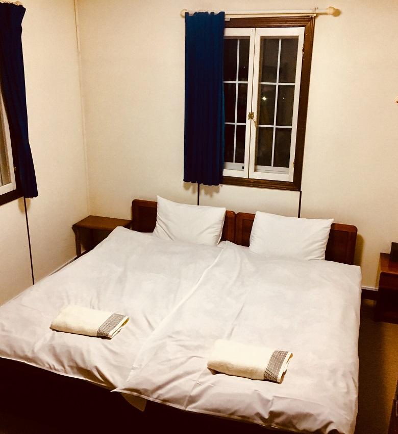 マダラオマウンテンロッジ客室の一例